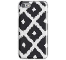 Black and White Texture Pattern iPhone Case/Skin