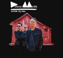 Depeche Mode : Soothe My Soul - With Photo - for black shirt by Luc Lambert
