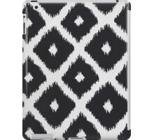 Black and White Texture Pattern iPad Case/Skin