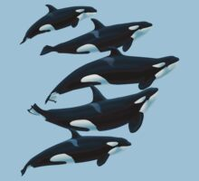 The Antibes Orcas by Art-by-Aelia