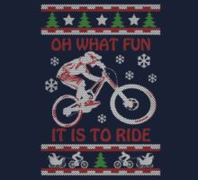 Mountain Bike Limited Christmas-Ugly christmas sweat by Martint
