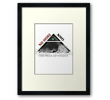 No More NWO Framed Print