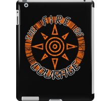 The Fire Of Courage iPad Case/Skin