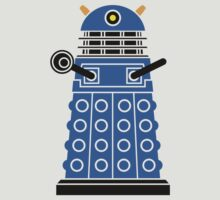 Dalek Blue by edwoodjnr