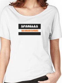 Old English Spangles 1970s retro boiled sweets Women's Relaxed Fit T-Shirt