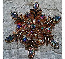 Snowflake Jewelery 2 Photographic Print