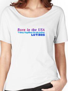 Nacido en los estados unidos Women's Relaxed Fit T-Shirt