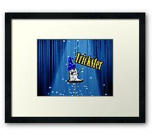 Magic trickster monster  Framed Print