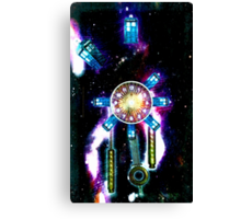 TIME SPACE STATION - 023 Canvas Print