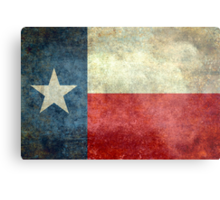 """The """"Lone Star Flag"""" of The Lone State Texas Metal Print"""