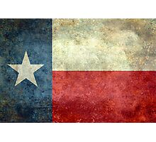 """The """"Lone Star Flag"""" of The Lone State Texas Photographic Print"""