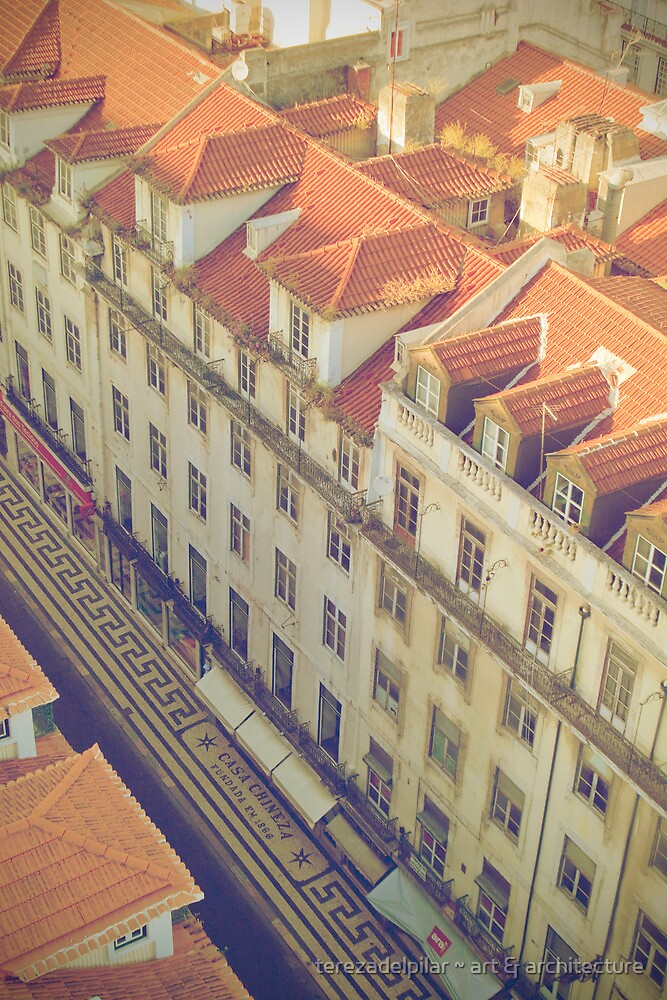 ritmos da baixa pombalina. rhythms downtown by terezadelpilar~ art & architecture