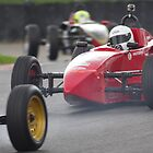 750 MC Formula Vee - #6 Ben Anderson (Autosport magazine) - Making a Pass at Clearways, Brands Hatch by motapics