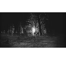 Zombie Night Photographic Print