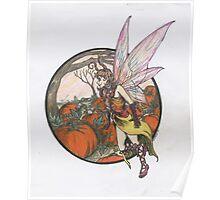 Aefwine - Autumn Harvest Fairy Poster