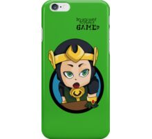 Do you want to play a game? iPhone Case/Skin
