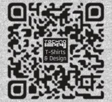 QR Code Technohippy Logo by Technohippy