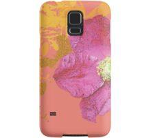 coral vintage flower Samsung Galaxy Case/Skin