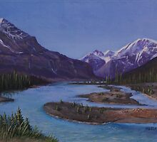 Athabasca Runoff by Michael Beckett