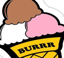 Burrr Tee Sticker