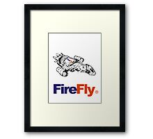 Firefly Delivery Framed Print