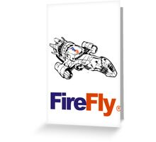 Firefly Delivery Greeting Card