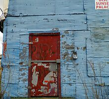 Bolted Door On The Club by WildestArt