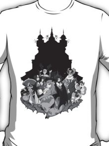 Darkstalkers Lady Killers B/W T-Shirt