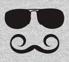 Mustache and sunglasses  by best-designs