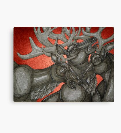 Three Stags Canvas Print