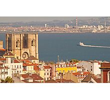 the city of light. Lisbon Cathedral. Photographic Print