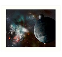 Miscellaneous Space Vista Number 54 Art Print