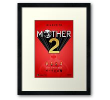 Mother 2 / EarthBound - Coming Soon Advertisement  Framed Print
