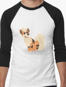 Pokemon - Growlithe Men's Baseball ¾ T-Shirt