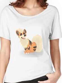 Pokemon - Growlithe Women's Relaxed Fit T-Shirt