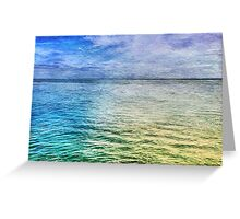 Monterey Blues Greeting Card
