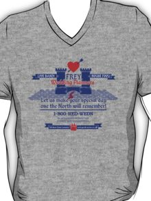 Frey Wedding Planners Advertisement T-Shirt