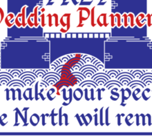 Frey Wedding Planners Advertisement Sticker
