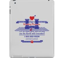 Frey Wedding Planners Advertisement iPad Case/Skin
