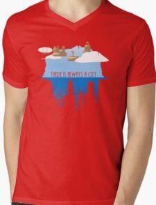 Always a City Mens V-Neck T-Shirt