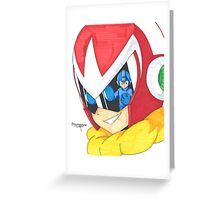 Proto Man and Mega Man Greeting Card