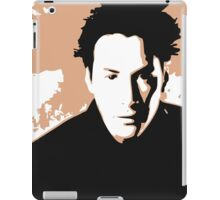 Keanu Reeves in the Matrix, Brown Color Design iPad Case/Skin