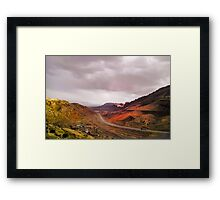 Painted Arches Framed Print