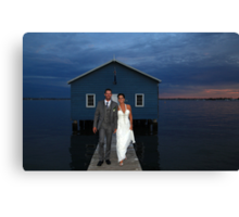 Mark And Yvette Wedding Canvas Print