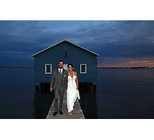 Mark And Yvette Wedding Photographic Print