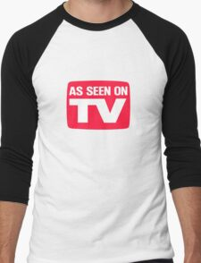 As seen on TV Men's Baseball ¾ T-Shirt