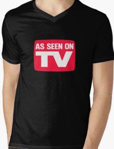 As seen on TV Mens V-Neck T-Shirt