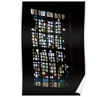 Modern Stained Glass Poster