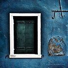 Blue Window by Jennifer Hartnett-Henderson