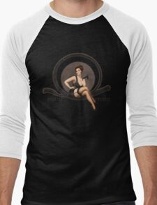 Strictly Business Men's Baseball ¾ T-Shirt